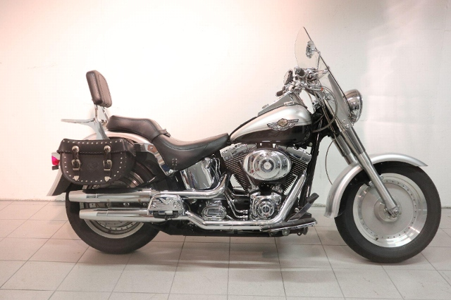 Motorrad kaufen HARLEY-DAVIDSON FLSTFI 1450 Softail Fat Boy *9370 Occasion