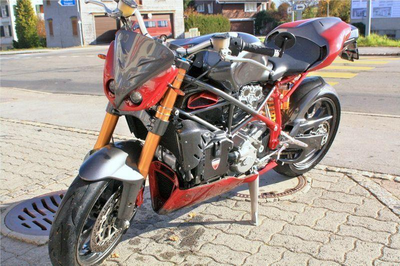 motorrad occasion kaufen ducati 999 s mono spezialumbau hanel thomas motos stein ar zeile 7. Black Bedroom Furniture Sets. Home Design Ideas