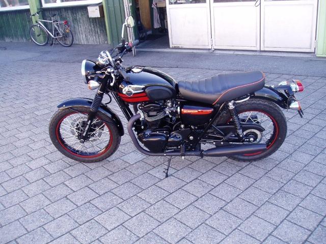 Motorrad kaufen KAWASAKI W 800 spezial Edition Occasion