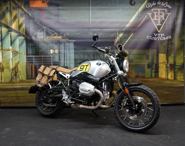 Motorrad kaufen BMW R nine T Scrambler ABS *VTR Customs Umbau- Frästeilepaket** Occasion