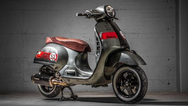 Motorrad kaufen PIAGGIO Vespa GTS 300 HPE « Peppone » Sofort verfügbar! Occasion