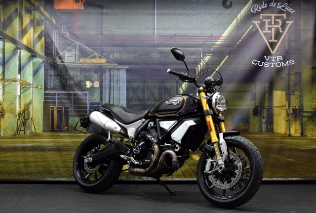 Motorrad kaufen DUCATI 1100 Scrambler SPORT Occasion