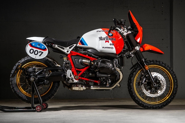 Motorrad kaufen BMW R nine T Urban G/S *UniT Garage Paris- Dakar* Neufahrzeug