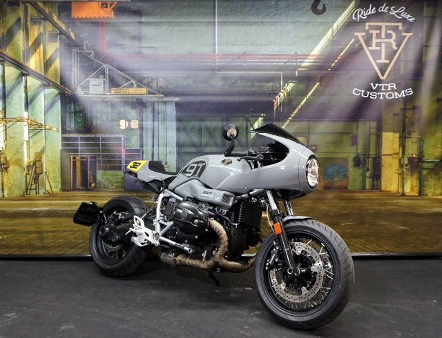 Motorrad kaufen BMW R nine T Racer ABS VTR Customs Nardo / JvB Spezial Occasion