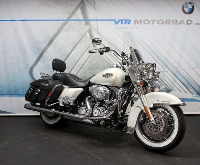 Motorrad kaufen HARLEY-DAVIDSON FLHRC 1690 Road King Classic ABS *VIEL ZUBEHÖR* Occasion