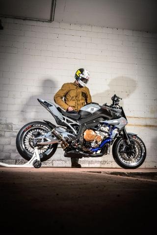 Motorrad kaufen BMW S 1000 XR ABS ** VTR Customs STR10 Radical Street Tracker** Occasion