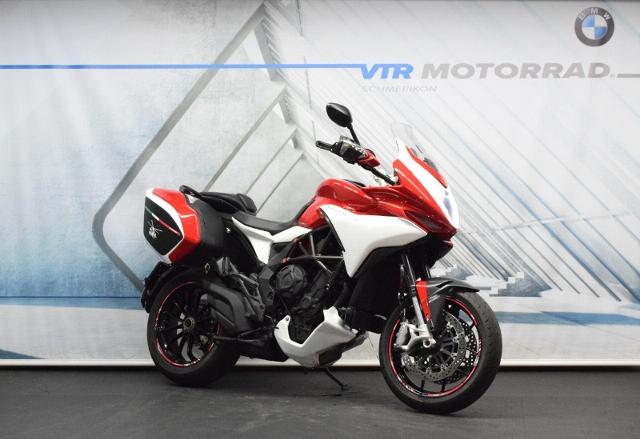 Motorrad kaufen MV AGUSTA Turismo Veloce Lusso 800 ABS * inkl. Seitenkoffer * ab Platz! Occasion
