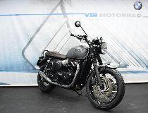 Töff kaufen TRIUMPH Bonneville T120 1200 ABS *Inkl. Remus + neue Reifen hi & vo* Retro