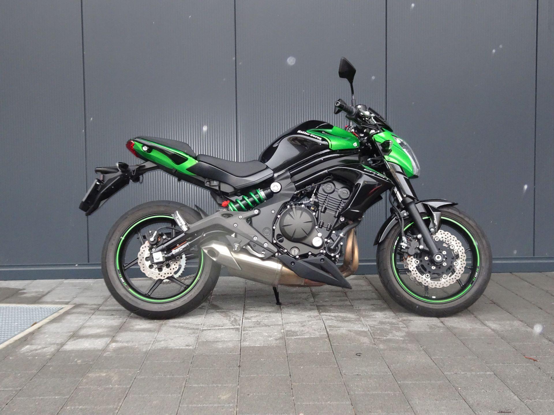 motorrad occasion kaufen kawasaki er 6n keller motos ag siggenthal station. Black Bedroom Furniture Sets. Home Design Ideas
