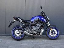 Motorrad Mieten & Roller Mieten YAMAHA MT 07 (Naked)