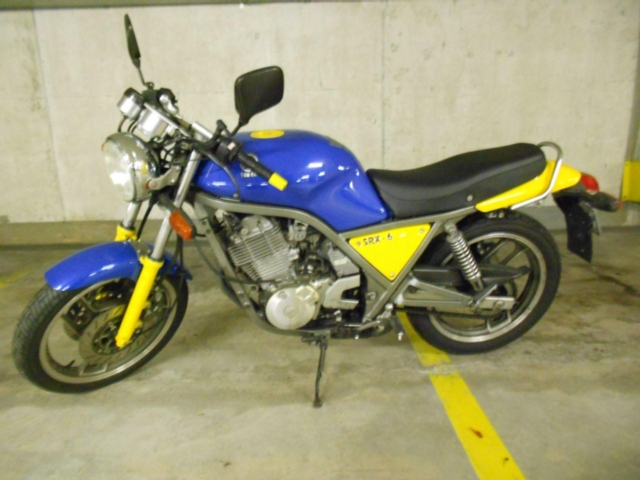 Motorrad kaufen YAMAHA SRX 600 Occasion