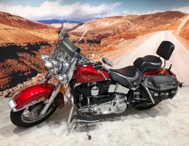 Motorrad kaufen HARLEY-DAVIDSON FLSTC 1340 Softail Heritage Classic  absolute Köstlichkeit Occasion
