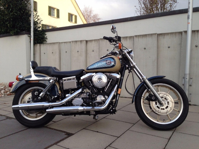 Motorrad kaufen HARLEY-DAVIDSON FXDB 1340 Dyna Glide Daytona Nr. 306 von 1700 Occasion