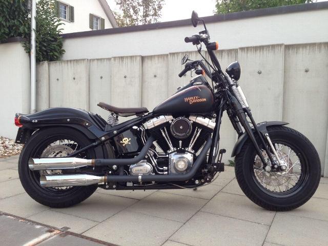 Motorrad kaufen HARLEY-DAVIDSON FLSTSB 1584 Softail X-Bones  unvergleichlich Occasion