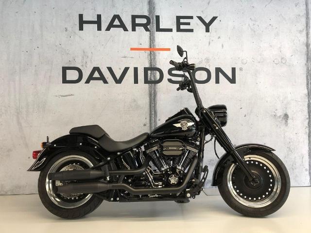 Motorrad kaufen HARLEY-DAVIDSON FLSTFBS 1801 Softail Fat Boy S ABS  hammerhart Occasion