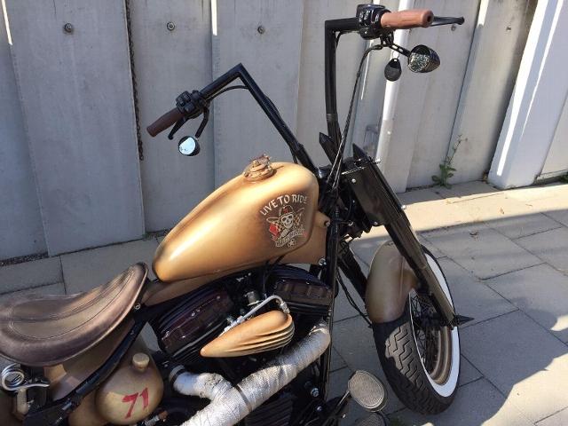 Motorrad kaufen HARLEY-DAVIDSON FLS 1690 Softail Slim ABS Köstlich Occasion