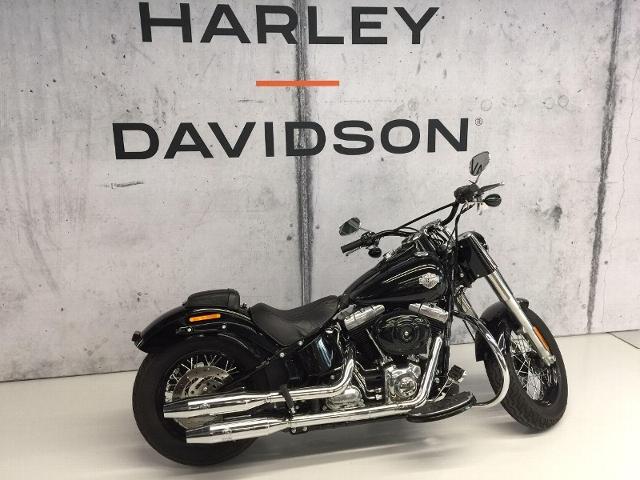 Motorrad kaufen HARLEY-DAVIDSON FLS 1690 Softail Slim ABS Kess Exhaust on Bord Occasion