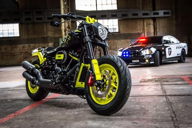 Motorrad kaufen HARLEY-DAVIDSON FXFBS 1868 Fat Bob 114 APOLLON BOTK Winner 2018 Occasion