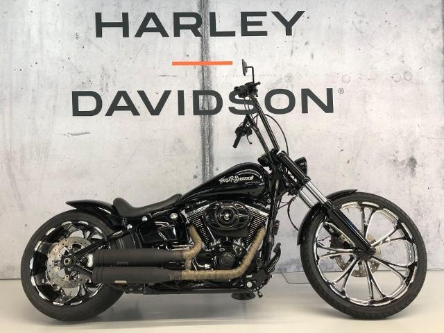 Motorrad kaufen HARLEY-DAVIDSON FXSB 1690 Softail Breakout ABS VICE 8 617 Occasion