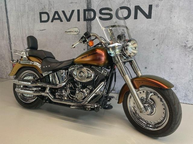 Motorrad kaufen HARLEY-DAVIDSON FLSTF 1584 Softail Fat Boy Occasion