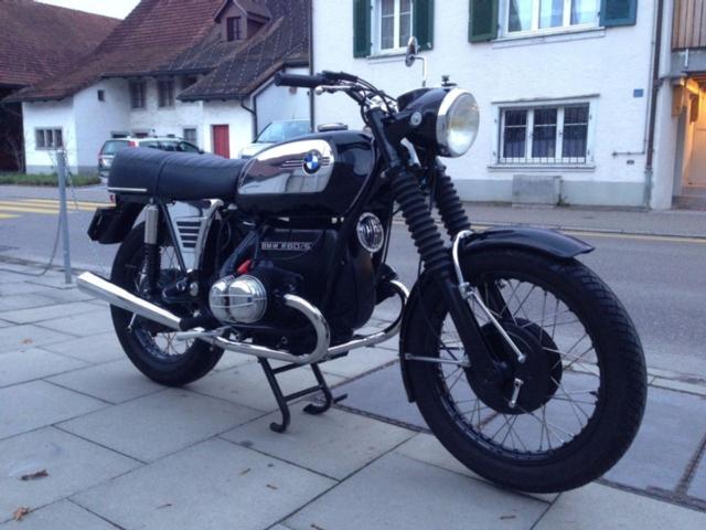 Motorrad kaufen BMW R60 5  Ratte Oldtimer