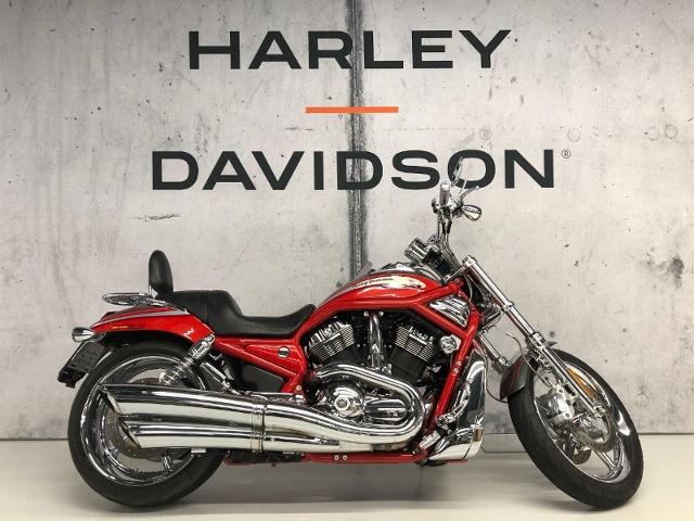 Motorrad kaufen HARLEY-DAVIDSON VRSCSE2 1250 Screamin Eagle V-Rod  roter Adler Occasion