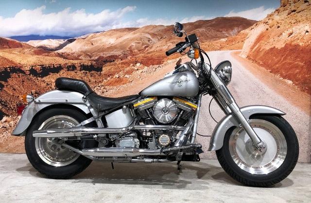 Motorrad kaufen HARLEY-DAVIDSON FLSTF 1340 Softail Fat Boy First Edition 1er von 4400 Occasion