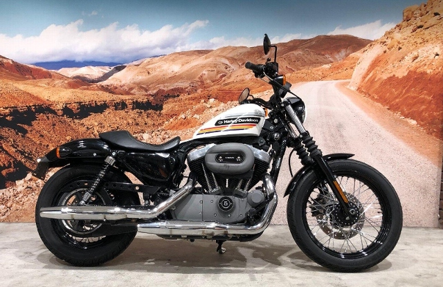 Motorrad kaufen HARLEY-DAVIDSON XL 1200 N Sportster Nightster Light Custom-Speziall Occasion