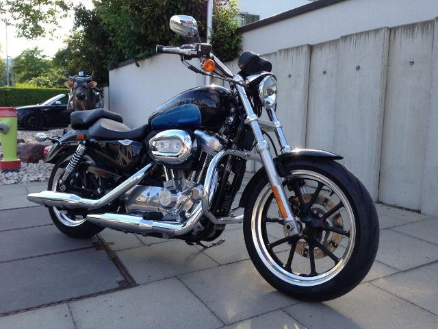 Motorrad kaufen HARLEY-DAVIDSON XL 883 L Sportster Super Low Occasion