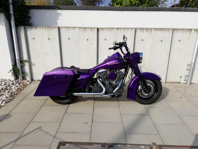 Motorrad kaufen HARLEY-DAVIDSON FLHRC 1584 Road King Classic ABS Frisch ab MFK und Service Occasion