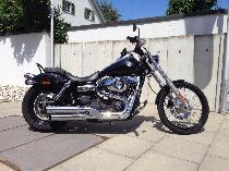Motorrad kaufen Occasion HARLEY-DAVIDSON FXDWG 1690 Dyna Wide Glide (custom)