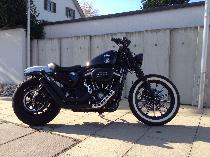 Motorrad kaufen Occasion HARLEY-DAVIDSON XL 883N Iron ABS (custom)