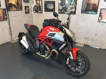 Töff kaufen DUCATI 1198 Diavel Carbon ABS Barone Rosso Naked