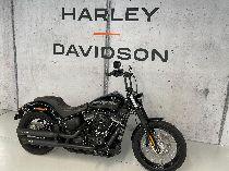 Töff kaufen HARLEY-DAVIDSON FXBB 1745 Street Bob 107 mit 35kw möglich Custom