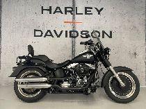 Töff kaufen HARLEY-DAVIDSON FLSTFB 1584 Softail Fat Boy Special mit Navi on board Custom