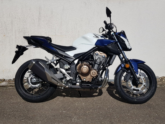 Motorrad kaufen HONDA CB 500 FA  ABS Modell 2019 Neufahrzeug