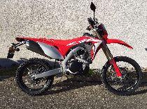 Motorrad Mieten & Roller Mieten HONDA CRF 450 L (Enduro)