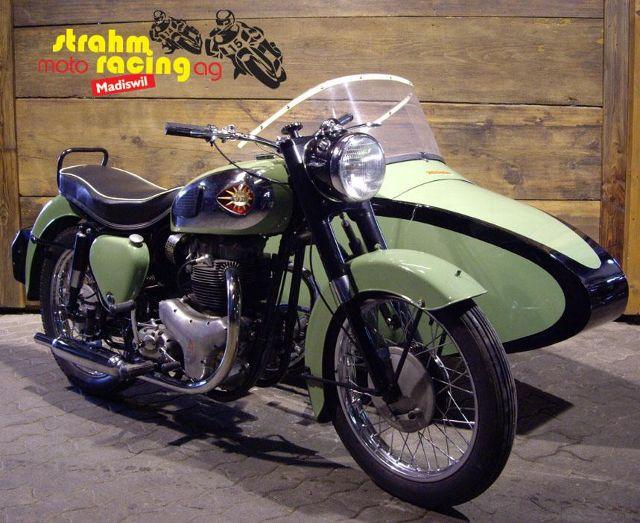 Motorrad kaufen BSA A 7-Shoting Star 57    K Occasion