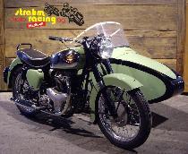 Acheter une moto Occasions BSA A 7-Shoting Star 57    K (side-car)