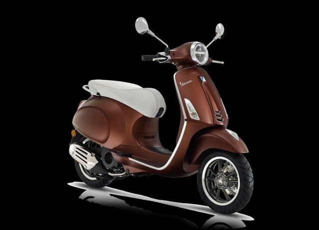 Motorrad kaufen PIAGGIO Vespa Primavera 125 ABS iGet 50th Anniversario Neufahrzeug