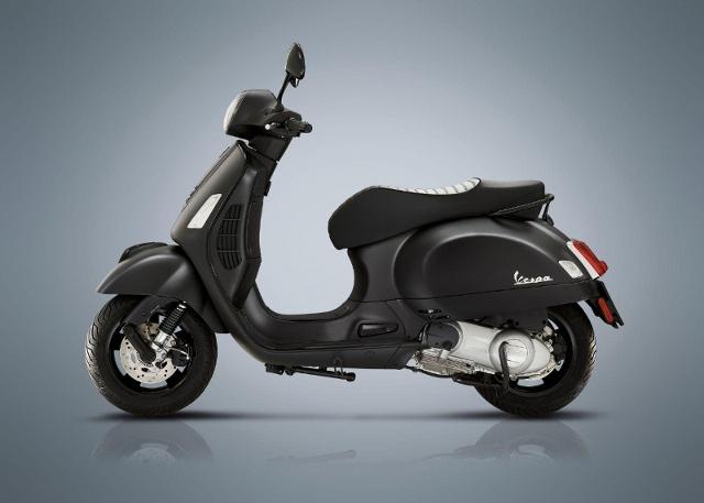 Motorrad kaufen PIAGGIO Vespa GTS 300 Super Notte Neufahrzeug
