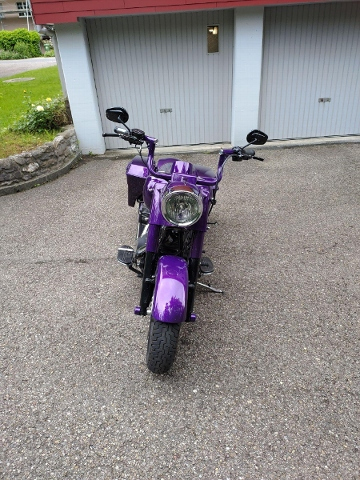 Motorrad kaufen HARLEY-DAVIDSON FLHRC 1584 Road King Classic ABS Occasion