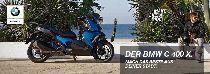 Töff kaufen BMW C 400 X Demomotorrad Roller