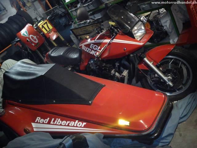 Motorrad kaufen SUZUKI Spezial EGLI Red Liberator Occasion
