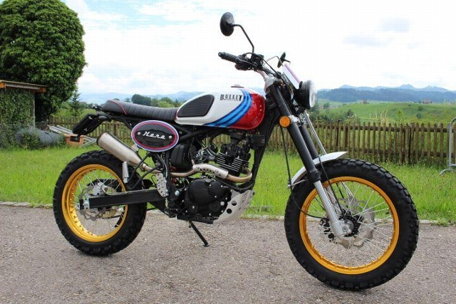 Motorrad kaufen BULLIT Hero 125 Vorführmodell