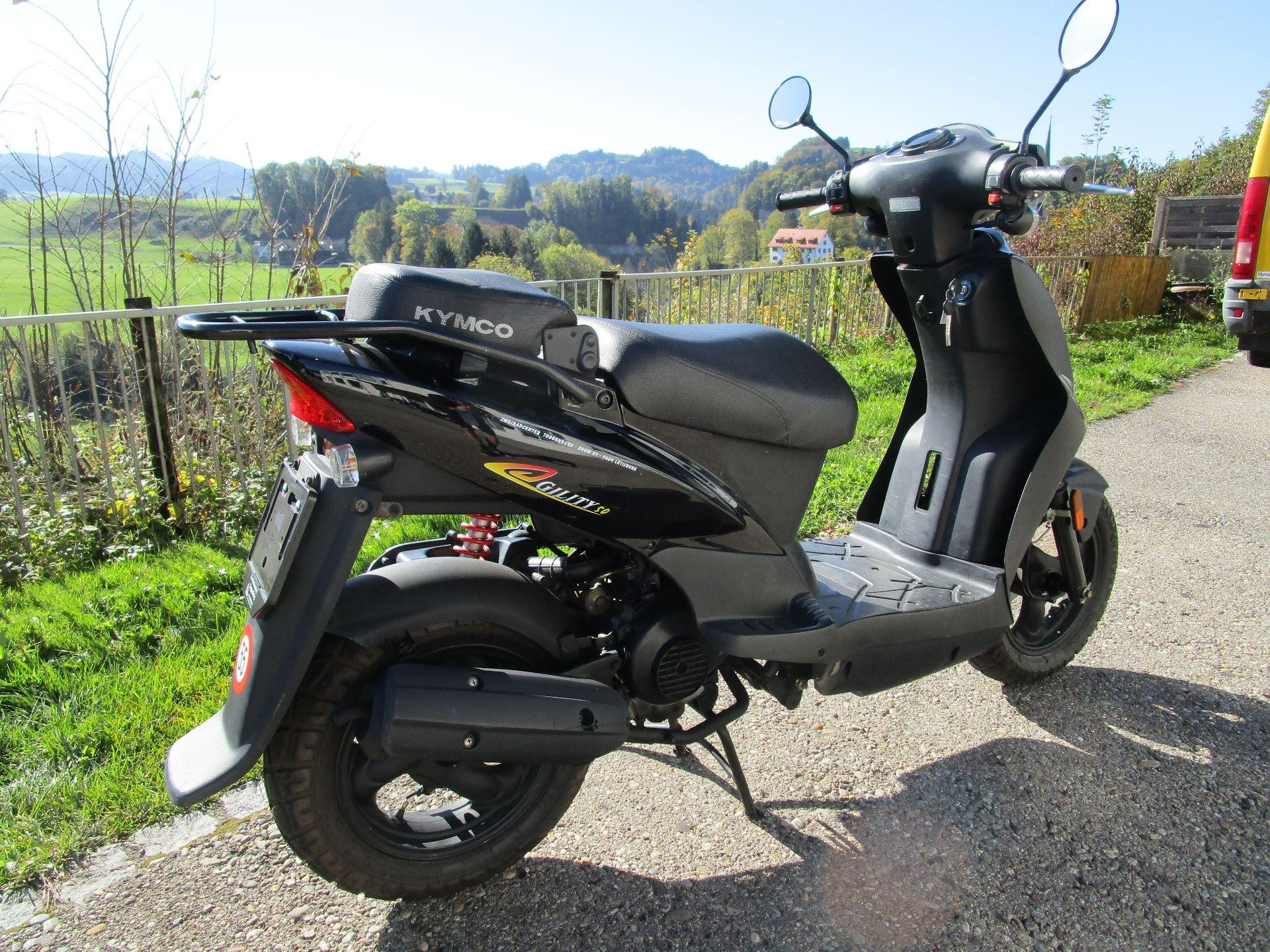 motorrad occasion kaufen kymco agility 50 zweiradcenter toggenburg l tisburg. Black Bedroom Furniture Sets. Home Design Ideas