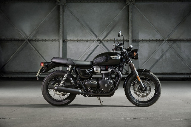Acheter une moto TRIUMPH Bonneville T100 900 Black ABS neuve