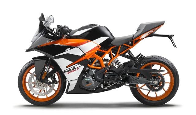 Acheter une moto KTM 390 RC Supersport ABS Herbst Deal neuve