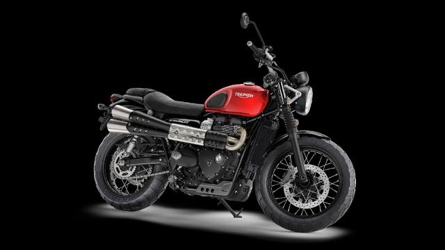 Acheter une moto TRIUMPH Street Scrambler 900 Leasing 2.95% neuve