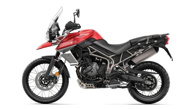 Acheter une moto TRIUMPH Tiger 800 XCA Alu-Kofferset & Halterung Gratis neuve